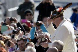 VATICANO-POPE-AUDIÊNCIA