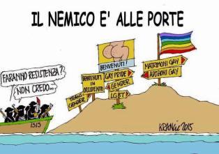 Eurabia Karikatur von Krančić