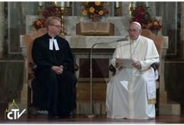 visitas Papa luterani