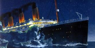 towards titanic iceberg 2