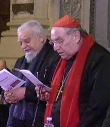 Enzo Bianchi y Pablo Romeo