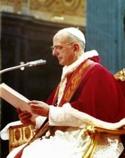 Pablo VI 7 diciembre 1965 cerrando el consejo