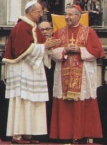 Paolo VI con il Cardinale LUciani