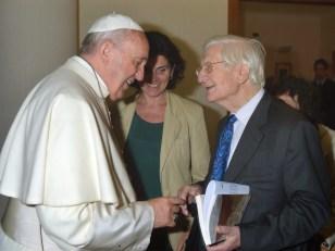 Raniero Valle y el Santo Padre