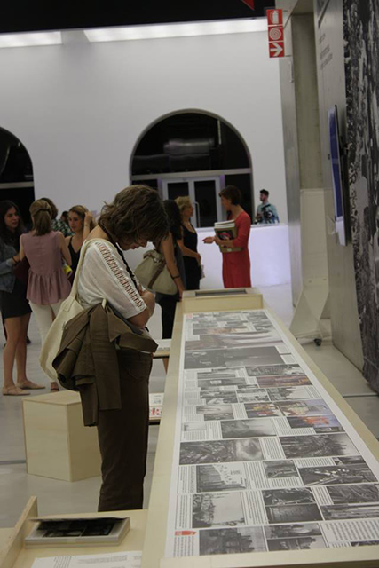 MAXXI, Roma, Isola Art Center, The Independent, installazione curata da Bert Theis e Angelo Castucci (foto: Giulia Cipriani)