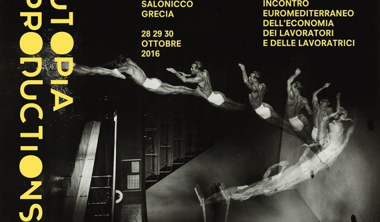 Utopia Productions, flyer Angelo Castucci