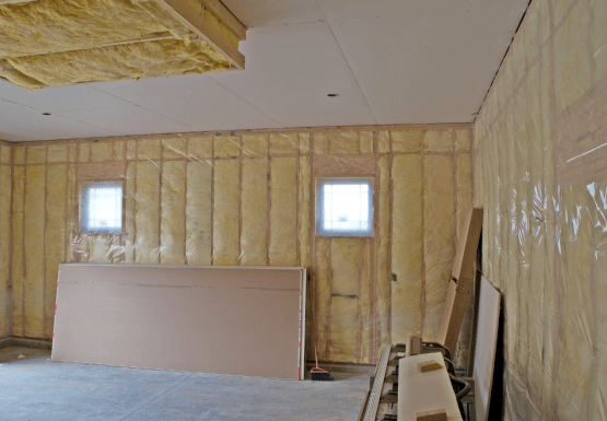 mur isolation travaux