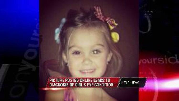 1-80-1 | Мать опубликовала фото дочери в Facebook... Это спасло малышке жизнь!