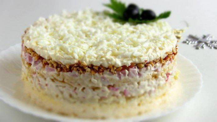 1-26   Вкусный и нежный салат «Снежная Королева»
