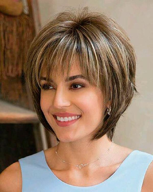 1-61 | Модные прически на короткие волосы и волосы средней длины