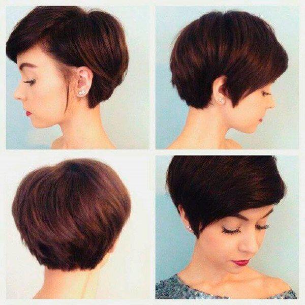 12-35 | Модные прически на короткие волосы и волосы средней длины