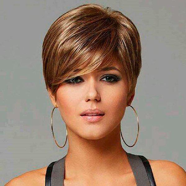 13-30 | Модные прически на короткие волосы и волосы средней длины