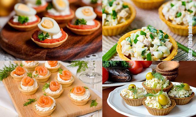 TARTALETKI | 10 рецептов необычных начинок для тарталеток — отличное украшение праздничного стола!