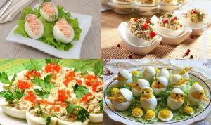26 вариантов начинок для фаршированных яиц. Настоящее украшение праздничного стола!
