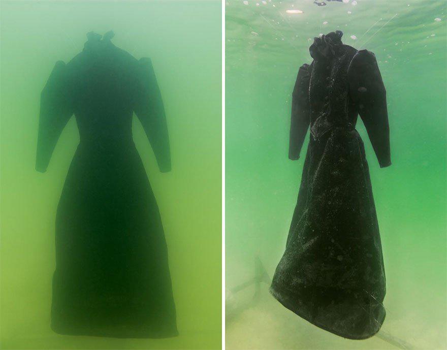 plate-v_c4ca4238a0b923820dcc509a6f75849b | Девушка оставила платье в Мертвом море на два года... Зачем она это сделала?