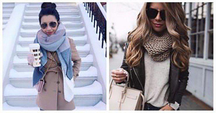eti-soveti-pomogut-vam-viglyadet   Так нужно правильно носить шарф. Советы которые помогут выглядеть стильно!