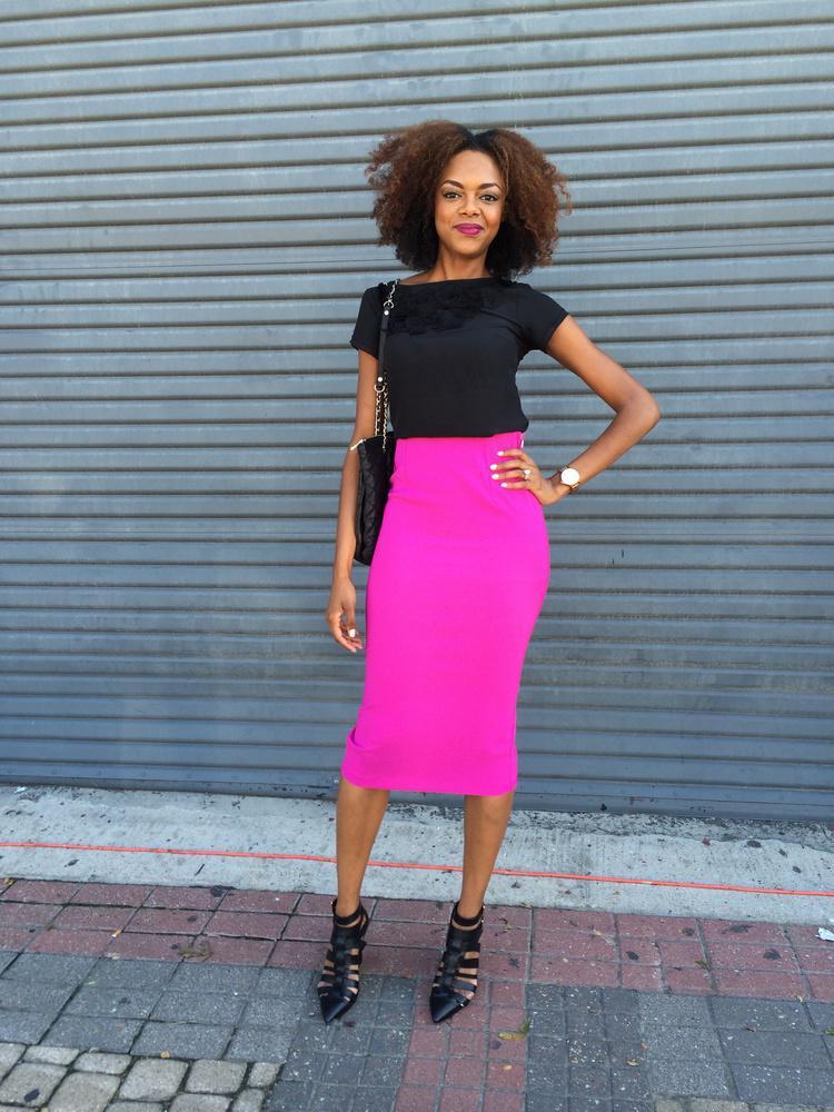 image1-139   27 стильных образов с юбками, которые заставят вас позабыть о брюках!