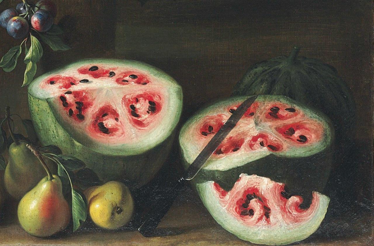 image1-168 | Как выглядели привычные овощи и фрукты несколько тысяч лет назад?