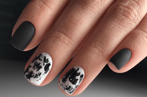 image10-1 | Черно-белая классика: идеи маникюра для элегантных девушек
