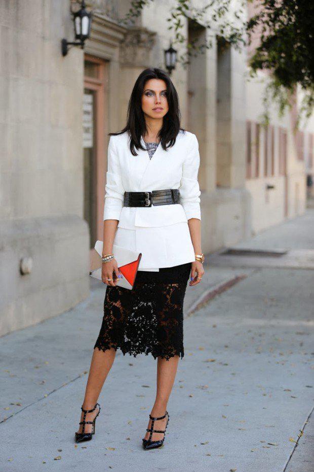image13-17   27 стильных образов с юбками, которые заставят вас позабыть о брюках!