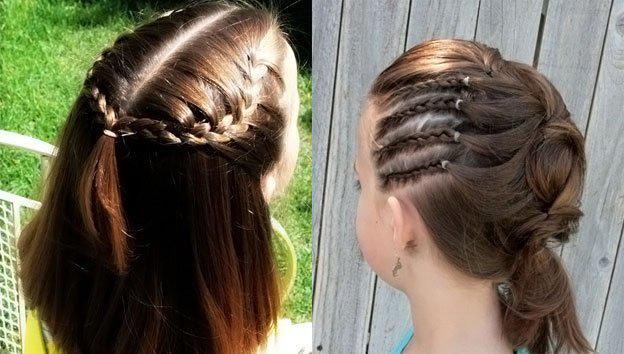 image15-8   Для маленьких принцесс: 35 шикарных причесок на короткие волосы!
