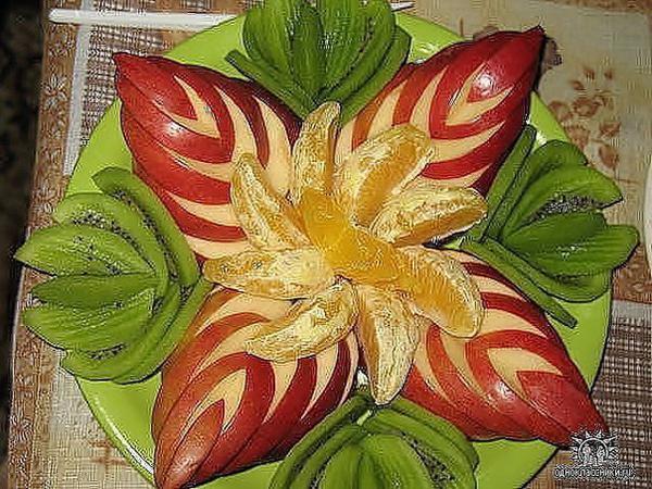 image19-19 | Простые, но красивые варианты фруктовой нарезки