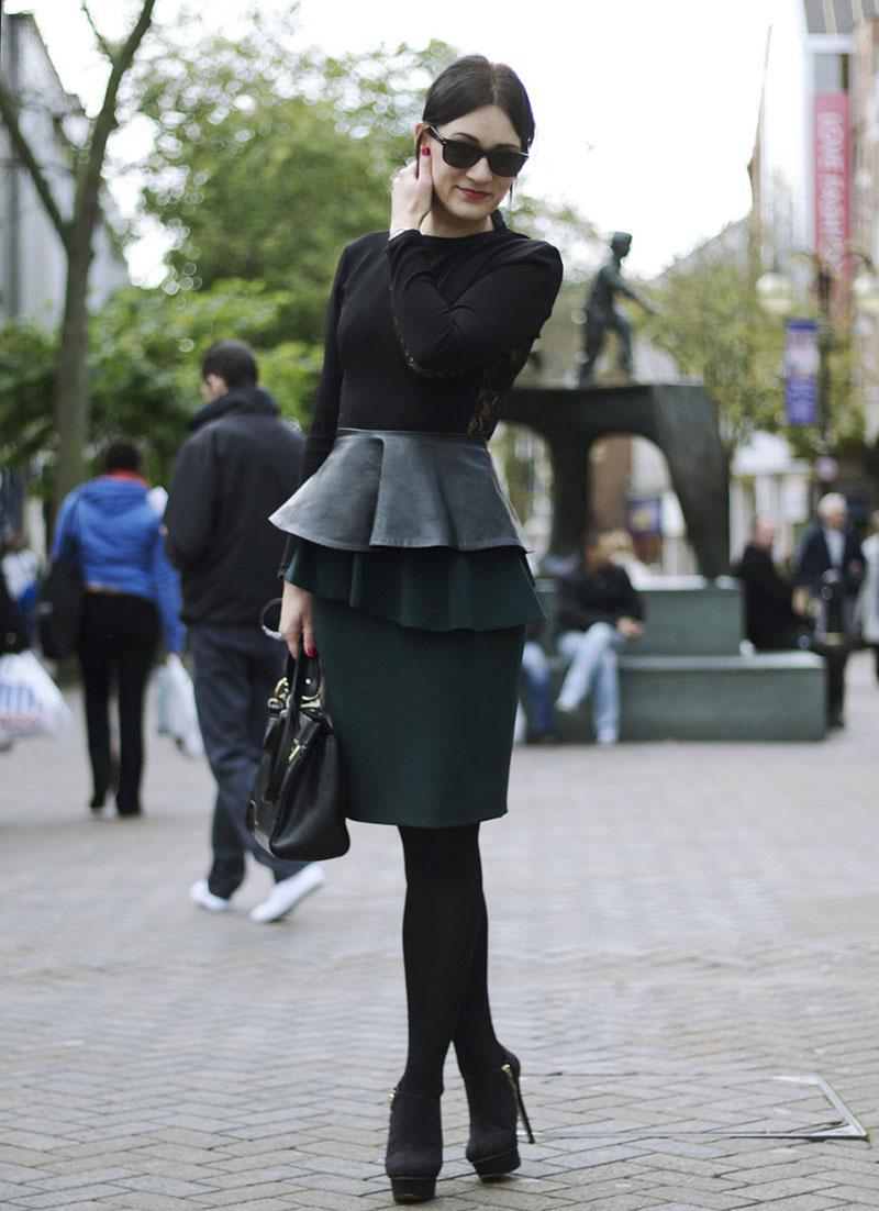 image2-96   27 стильных образов с юбками, которые заставят вас позабыть о брюках!