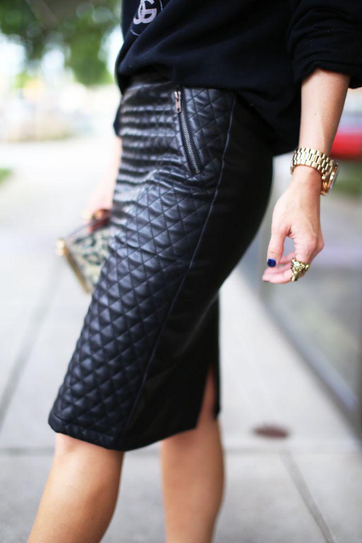 image21-4   27 стильных образов с юбками, которые заставят вас позабыть о брюках!