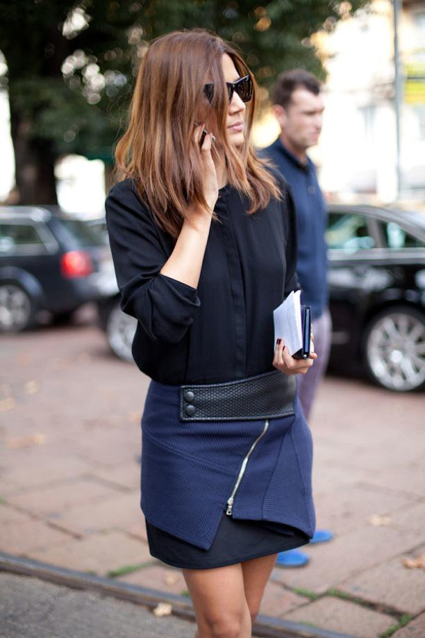 image24-3   27 стильных образов с юбками, которые заставят вас позабыть о брюках!