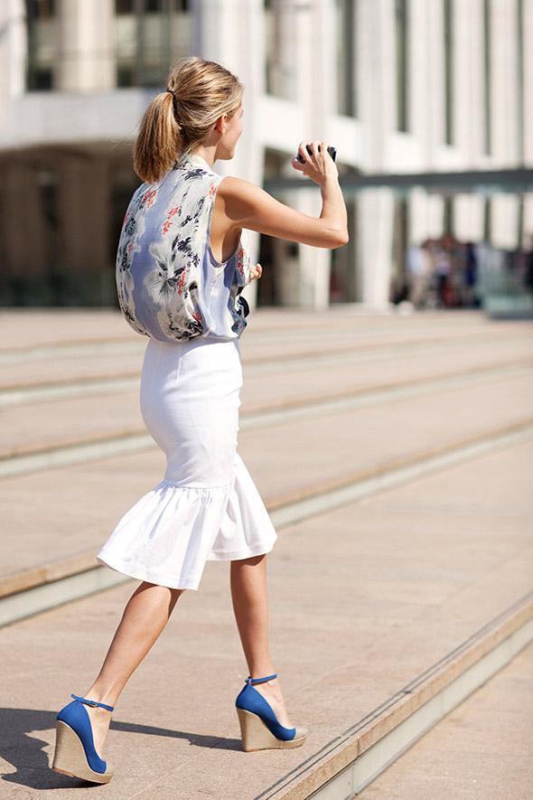image6-52   27 стильных образов с юбками, которые заставят вас позабыть о брюках!
