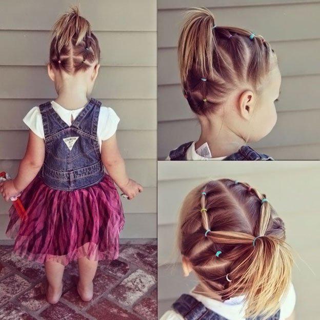 image8-25   Для маленьких принцесс: 35 шикарных причесок на короткие волосы!