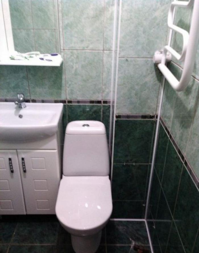 image11-3   Сын отремонтировал матери ванную комнату... Любо-дорого!