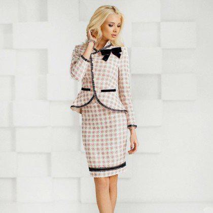 image11-55 | 20 стильных образов с юбкой и жакетом для деловых леди