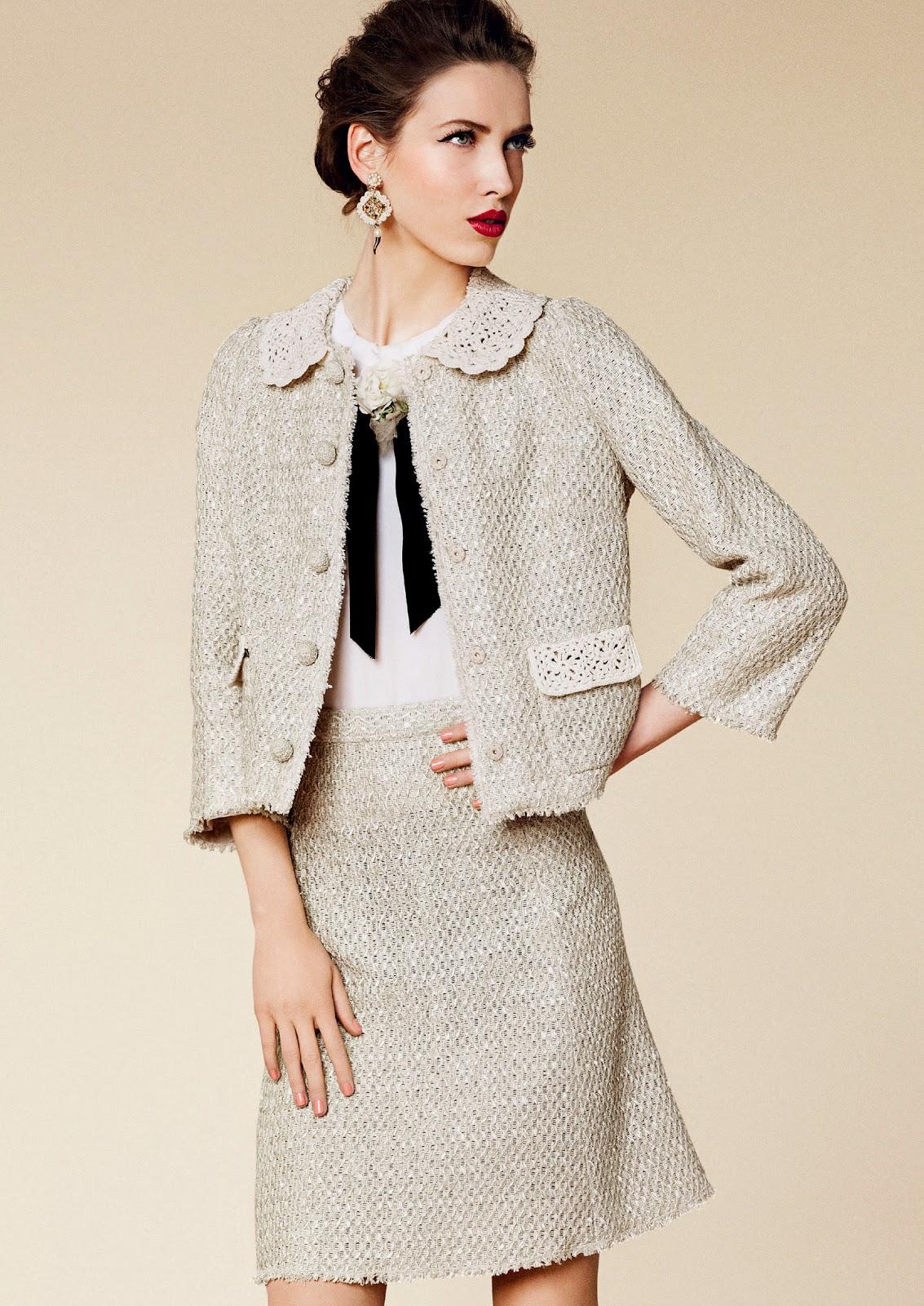 image13-47 | 20 стильных образов с юбкой и жакетом для деловых леди