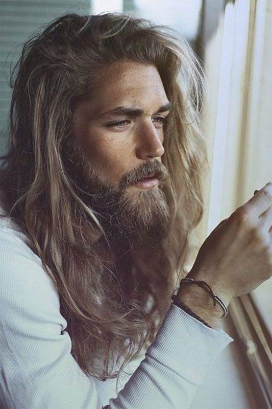 image14-57 | Модные мужские стрижки на длинные волосы 2018