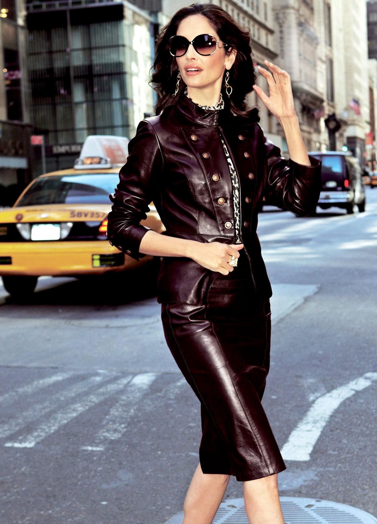 image18-26 | 20 стильных образов с юбкой и жакетом для деловых леди