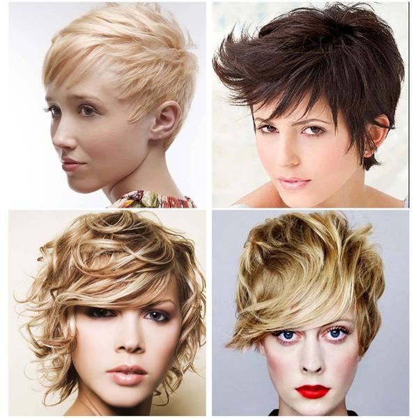 image2-101   Стильные укладки на короткие волосы 2018