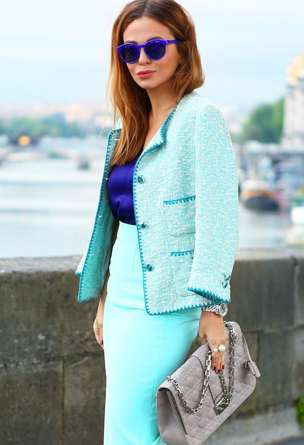 image20-25 | 20 стильных образов с юбкой и жакетом для деловых леди