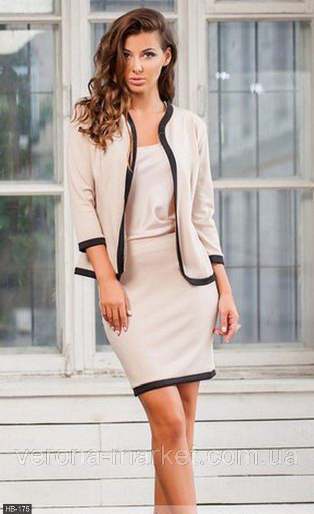 image3-106 | 20 стильных образов с юбкой и жакетом для деловых леди