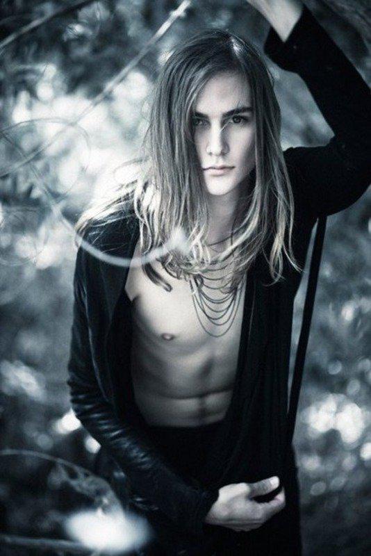 image34-5 | Модные мужские стрижки на длинные волосы 2018