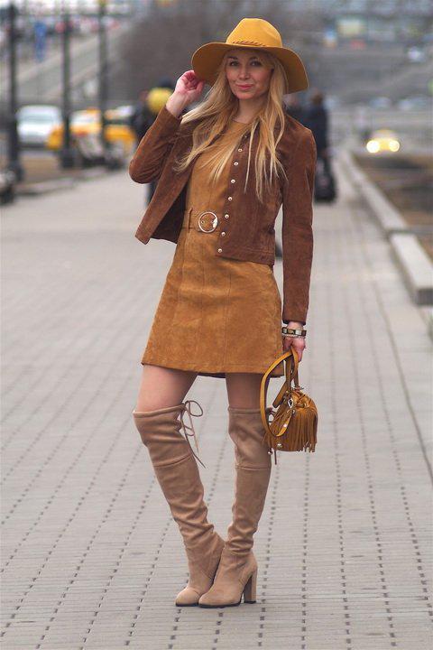 image36-7   Модные сапоги и как создать стильные образы с ними