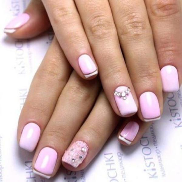 image40-1 | Красивые ногти с украшениями на весну-лето 2018