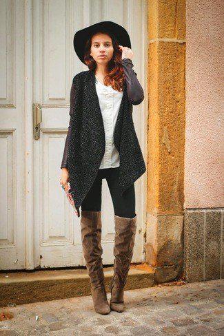 image40-6   Модные сапоги и как создать стильные образы с ними