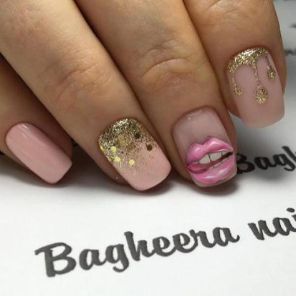 image42-1 | Красивые ногти с украшениями на весну-лето 2018