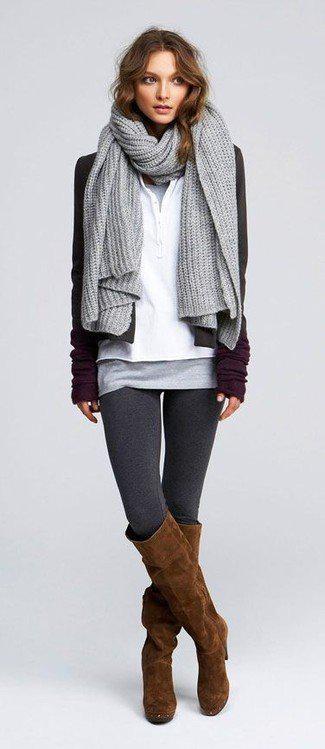 image43-5   Модные сапоги и как создать стильные образы с ними