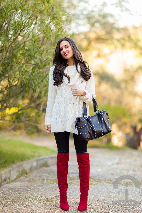 image46-3   Модные сапоги и как создать стильные образы с ними