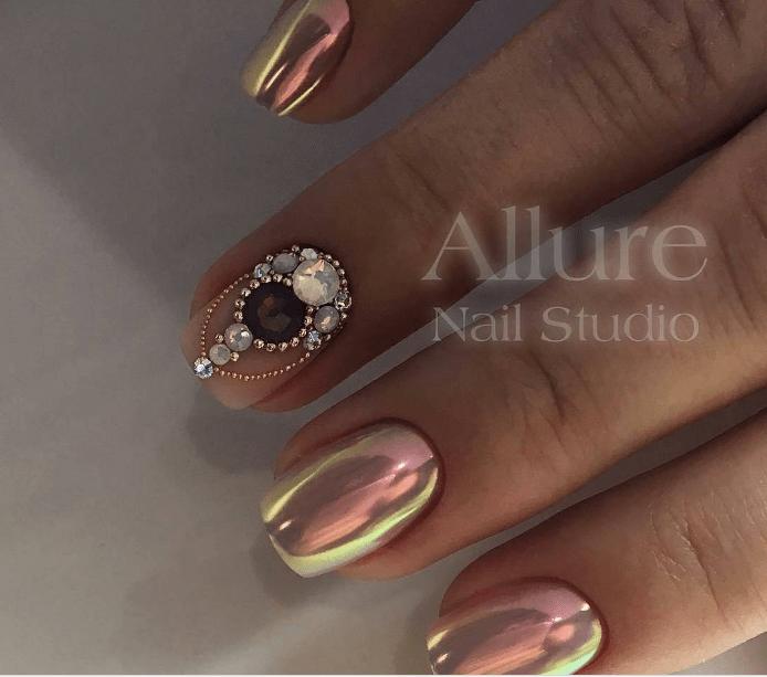 image6-2 | Модно и дорого: 25 идей роскошного ногтевого дизайна