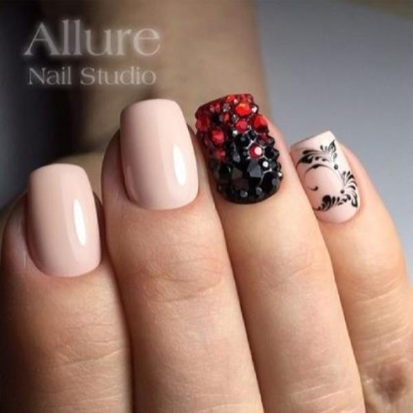 image7-48 | Красивые ногти с украшениями на весну-лето 2018