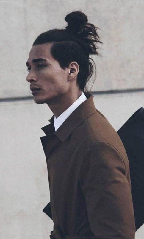 image90 | Модные мужские стрижки на длинные волосы 2018