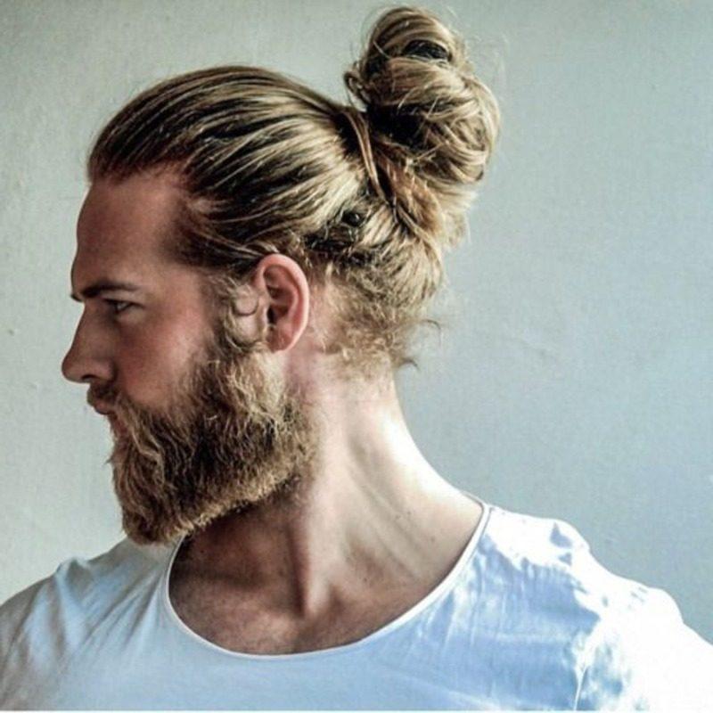 image98 | Модные мужские стрижки на длинные волосы 2018